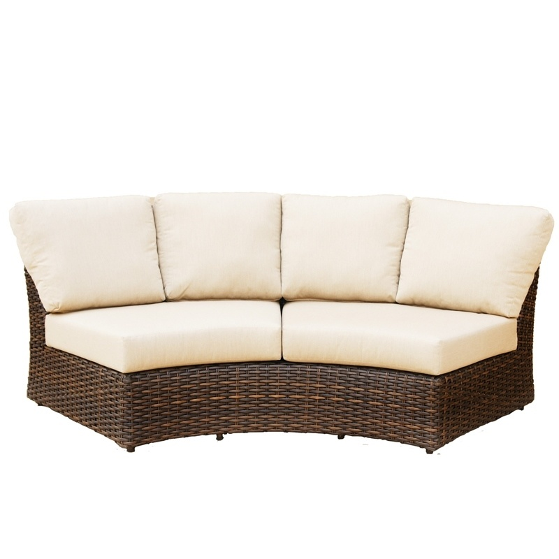 The Rounded Wedge Arm Sofa